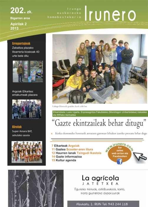 Irunero aldizkaria