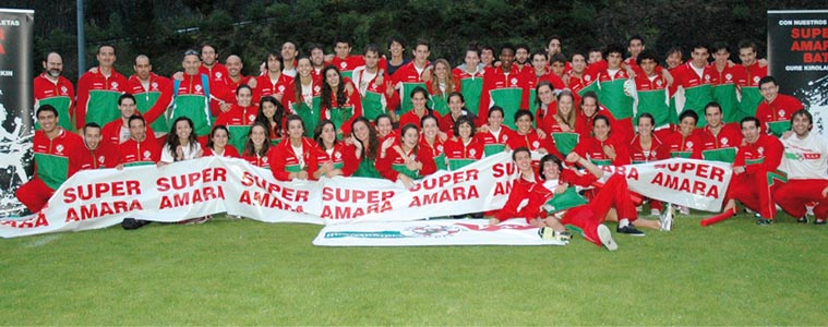 Super Amara – Bidasoa Atletiko Taldea, marka guztiak hausten dituen kluba