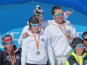 Errelebo podiuma- espainako txapelketa- 2012