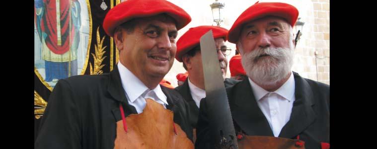 """Juan Carlos Errazquin, Alarde Tradizionaleko Hatxeroen idazkaria: """"San Martzial mendiko  desfilea liluragarria da"""""""