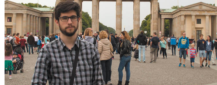 Xabier  Zubizarreta:  Irundar  bat  Alemanian  ikasle