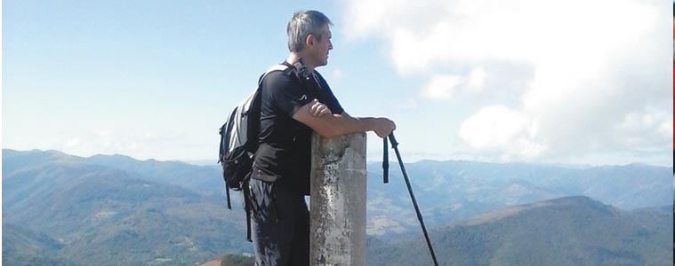 Julio Iturre, Irungo Mendizaleak elkarteko presidentea
