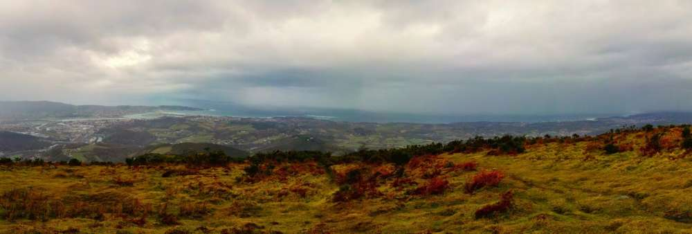 Ibilbide  biribila:  Ibardin-Manddale  (573m)-Zigorriaga  (549m)-Xoldoko  Gaina  (486m)-Ibardin