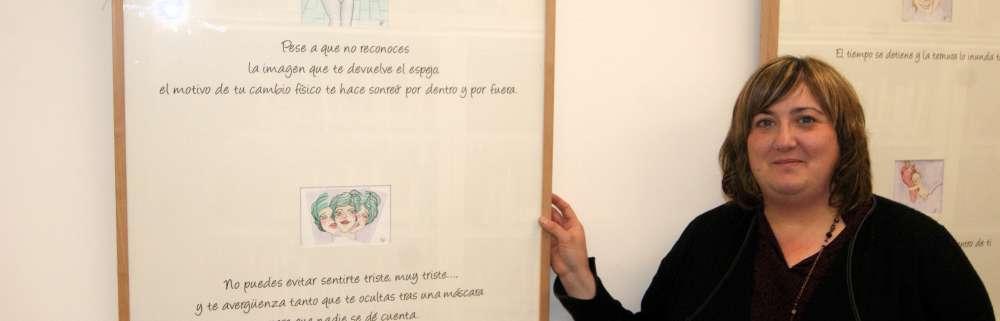 """ALICIA CEBRIÁN, ilustratzailea: """"Erakusketak oroitzapen eta sentimendu asko piztu dituela iruditzen zait"""""""