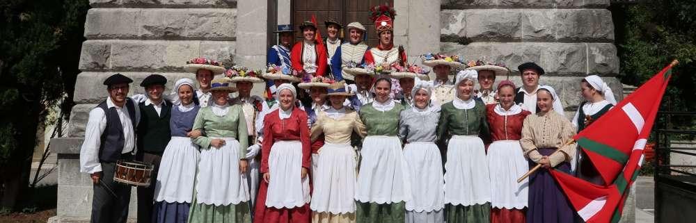 Euskal Herriko dantzak Italiara eraman ditu Kemenek