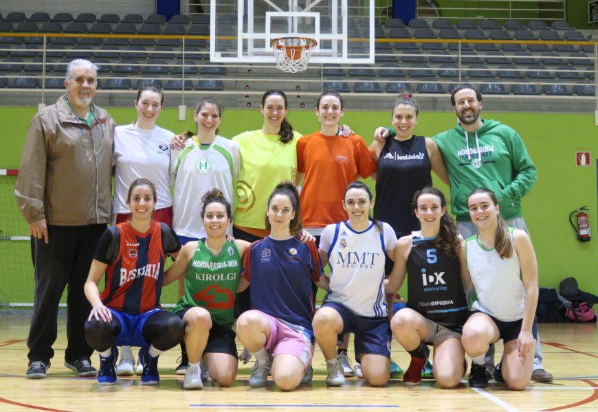 Goranzko bideari jarraipena eman dio Hondarribia Ikasbasket-ek