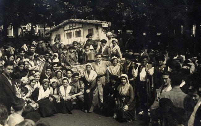 40 urteetako historia  Irungo Euskal Jiraren atzean
