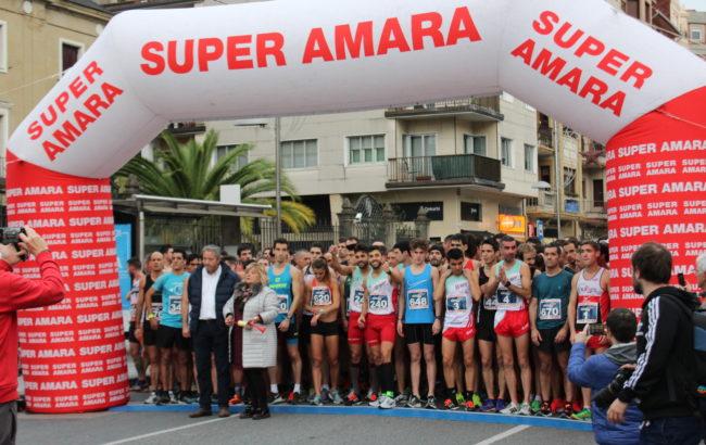 Super  Amara  Gabonetako  Krosaren  V.  edizioak  Irungo  kaleak  zeharkatu  zituen  abenduaren  22an