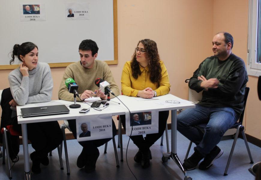 Udal  Liburutegiko  erabiltzaileen  euskarazko  irakurzaletasuna  ikertuko  du  14.  Jose  Antonio  Loidi  Bekak