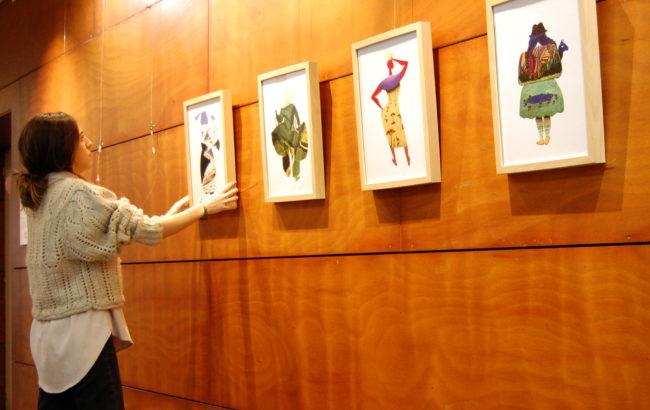 """Alaia Gaztelumendi, artista: """"Ilustrazioen bitartez marrazkia ideia indartsuekin  elkartzea atsegin dut"""""""