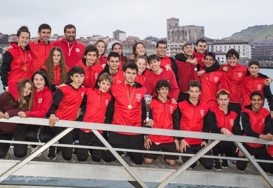 Santiagotarrak  klubeko  pista  sekzioak  Gipuzkoako  Piraguismo  Txapelketaren  garaipenarekin  hasi  du  denboraldia