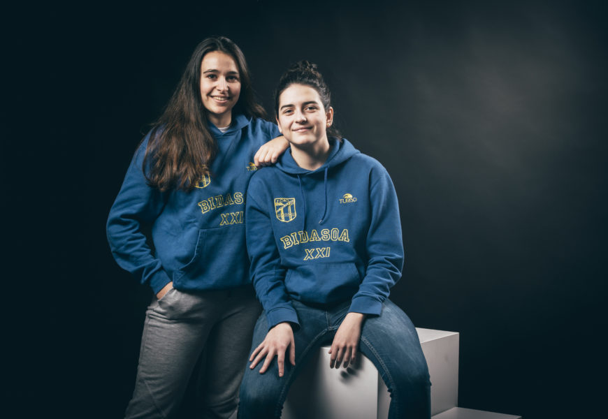 Bidasoa XXI klubeko nesken senior taldea Euskal Herriko Kopan garaile
