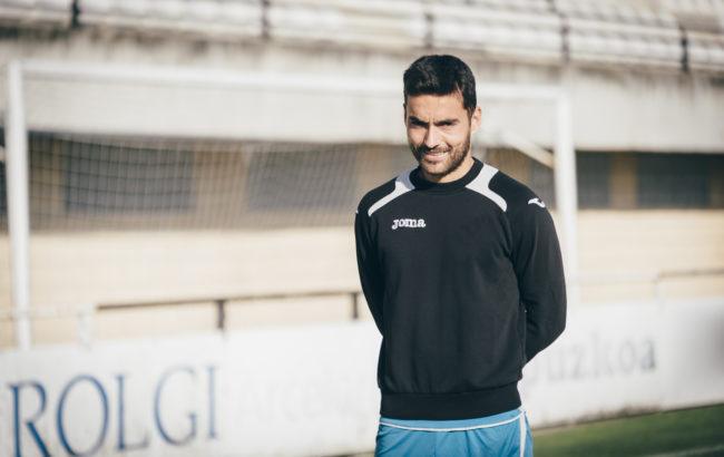 """Dani Estrada, Real Unioneko jokalaria: """"Futbola ez da matematika hutsa"""""""