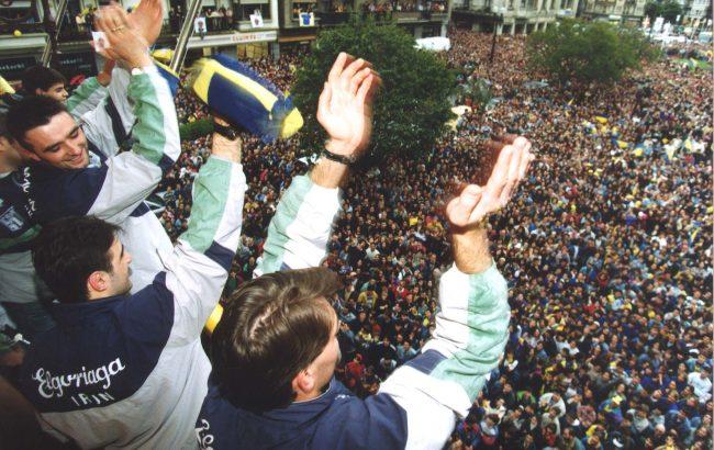 25 urteren ondoren Europako garaipenak Bidasoan utzitako zaporea