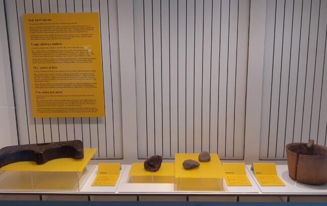 Artzaintzarekin lotutako piezak ikusgai egongo dira Oiasso museoan Gordailuaren kolaborazioari esker