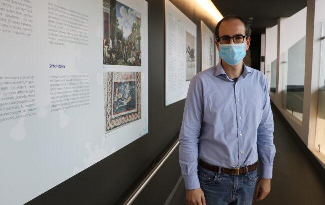"""Juanjo Jiménez, Oiasso Museoko zuzendaria: """"Pandemiak historian zehar jazotako gertakari arruntak izan dira"""""""
