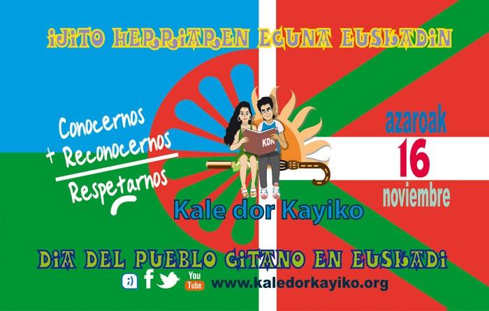 Azaroaren 16an Euskadiko Ijito Herriaren Eguna ospatu zuen KaleDorKayiko elkarteak
