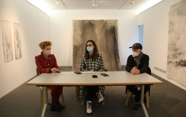 Otsailaren 21era arte Jesús María Cormán artistaren erakusketa bisitatu ahalko da Menchu Gal aretoan