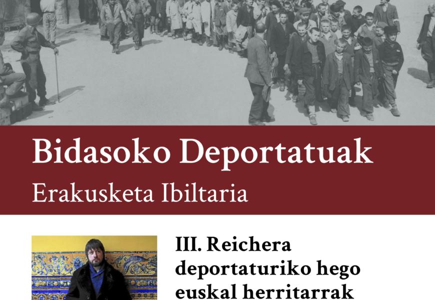 III. Reichera deportaturiko hego euskal herritarrak, Oiasson mintzagai