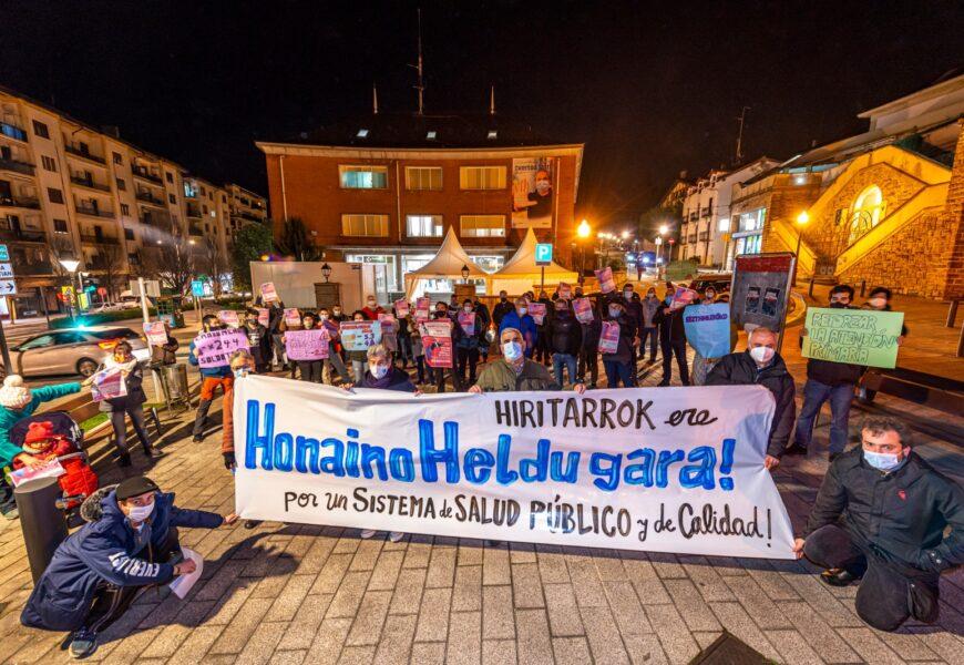 Osasungintza Publikoaren Babeserako Hiritar Sareak manifestazioa deitu du urtarrilaren 30erako