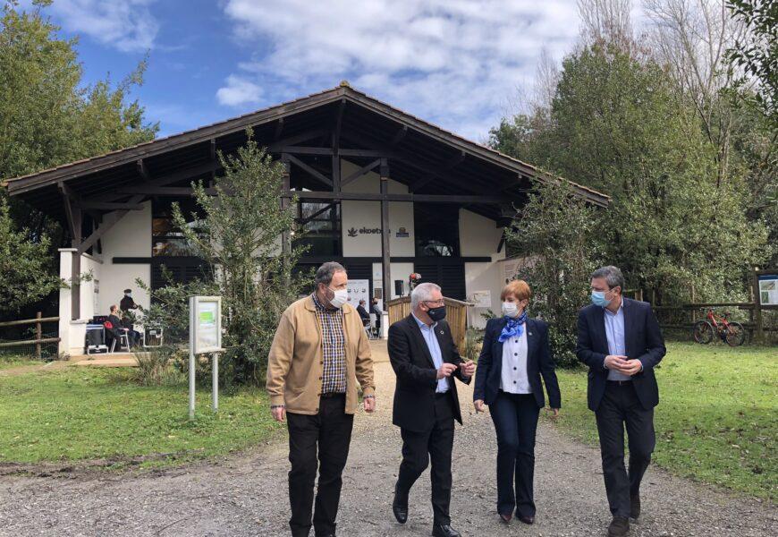 Eusko Jaurlaritzak Txingudiko espazio naturalen konektagarritasuna hobetuko duela iragarri du