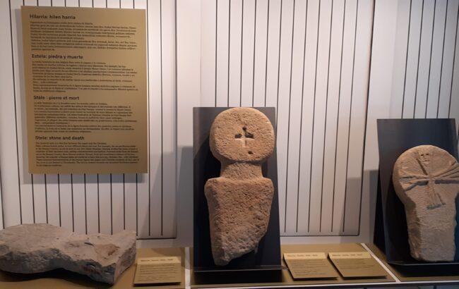 Gordailuaren laguntzari esker Oiasso Museo Erromatarraren erakusketa zabaldu da