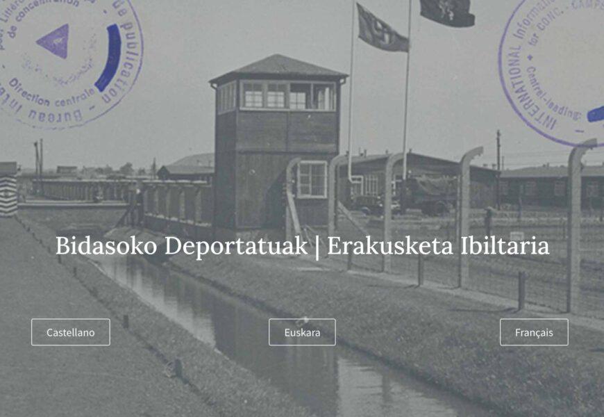 Bidasoko Deportatuak erakusketa sarean ikusgai