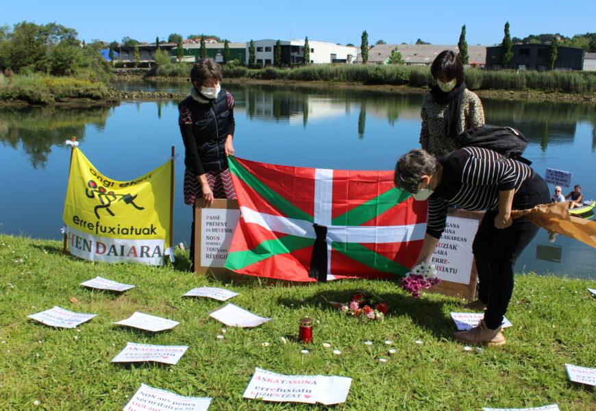 Bidasoa ibaia iragaitzazko migratzaileentzat amu bihurtzen denean