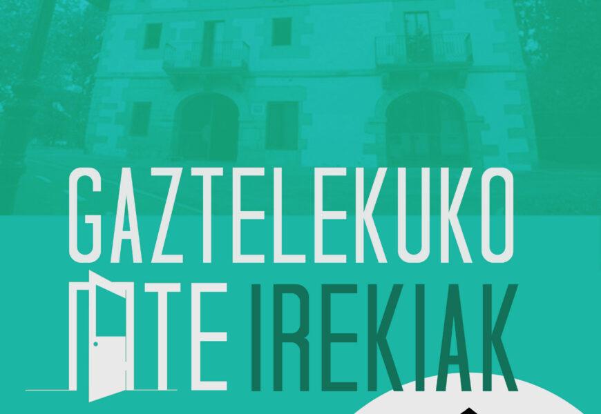 Irungo Gaztelekuak ate irekien jardunaldia antolatu du irailaren 27rako